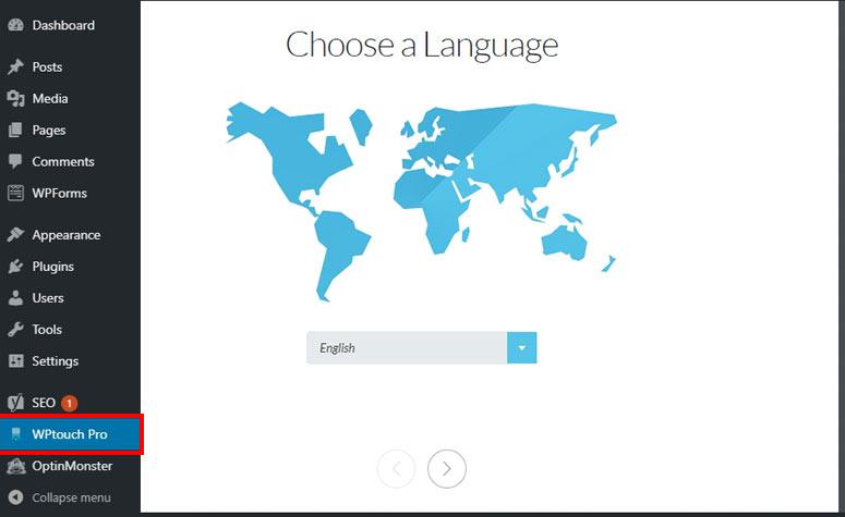 WPTouch Pro plugin make WordPress site Mobile-Friendly