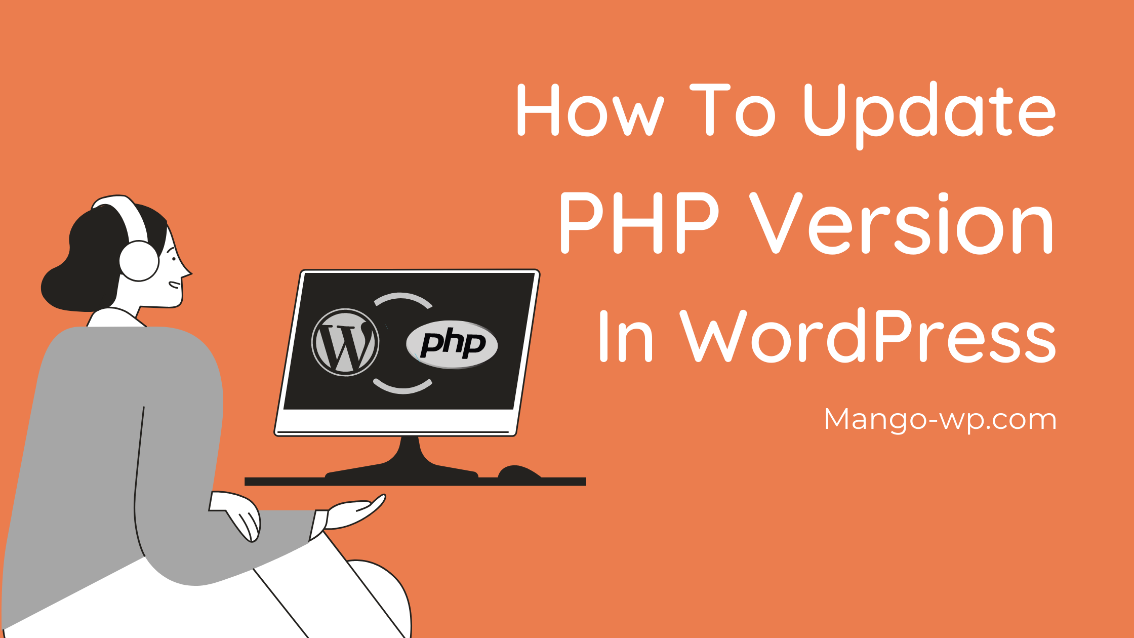 Update the PHP version in WordPress