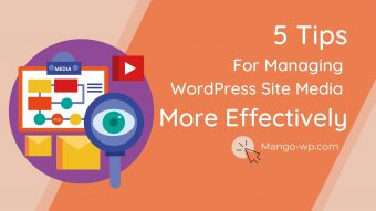 tips For Managing WordPress Site Media More Effectively