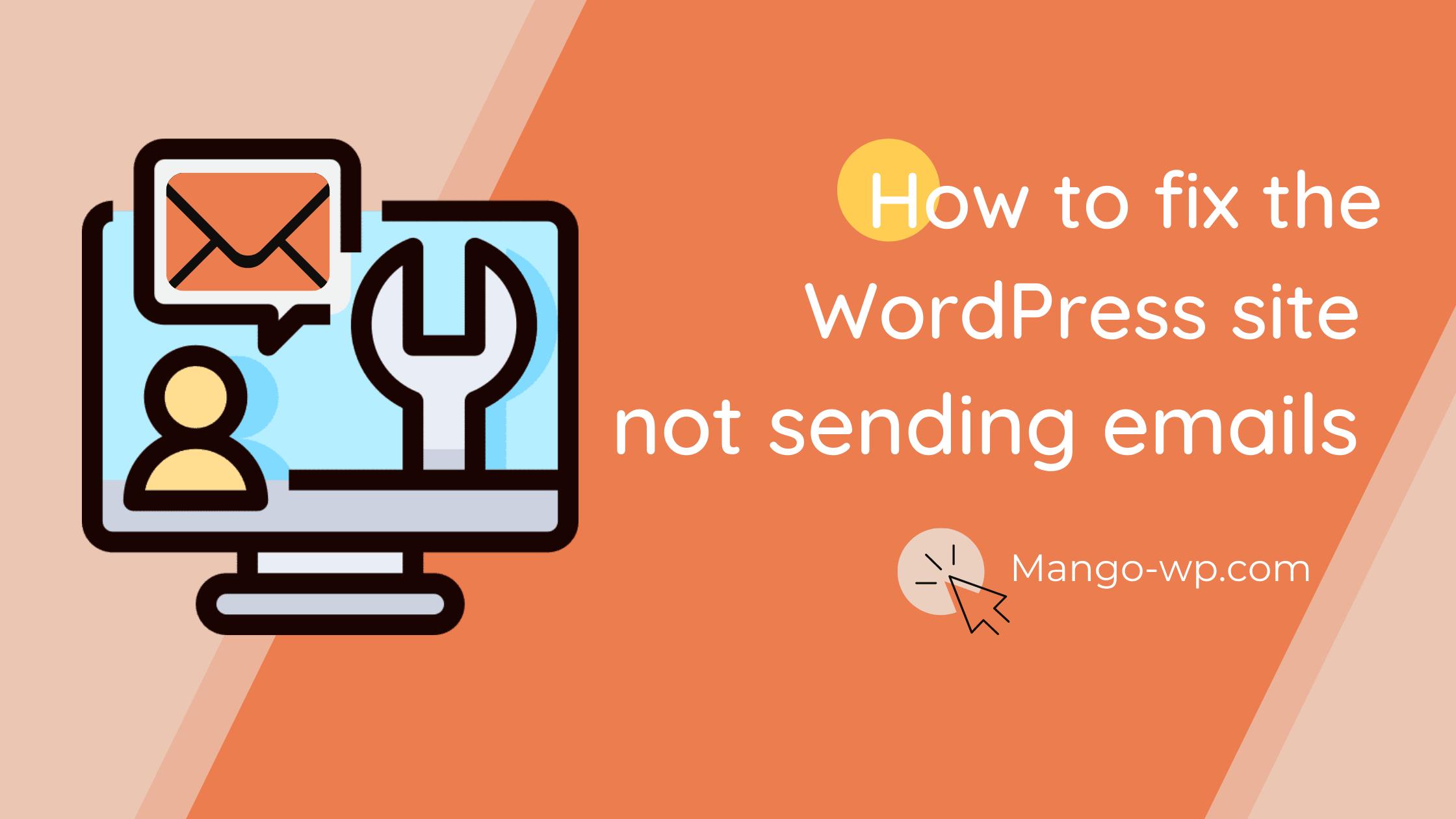 Fix WordPress Not Sending Email