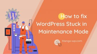 fix wordpress stuck in maintain mode