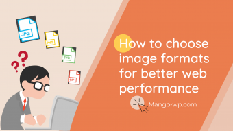 How to choose image formats for better web performance